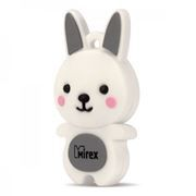 8Gb Mirex Rabbit Grey (13600-KIDRBG08)