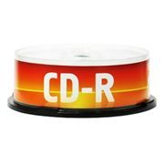Диск CD-R Data Standard 700MB 52x, Cake Box, 25шт (13210-DSCDR01M)