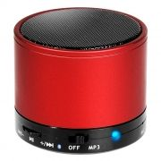Колонка 1.0 Perfeo CAN, Bluetooth, MP3, FM, 3W, 500 мАч, красная (PF-BT-CN-RD) (PF_5211)