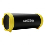 Колонка 1.0 SmartBuy TUBER MKII, Bluetooth, MP3, FM, черный/желтый (SBS-4200)
